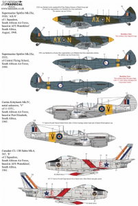 SAAF Fighters/Attack Aircraft
