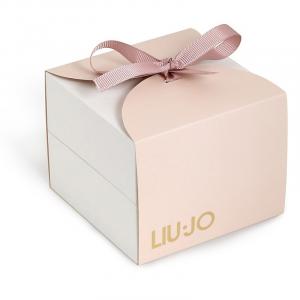 LIU JO Orologio Couple, rose gold con quadrante nero
