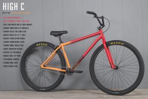 Sunday High C Bici Cruiser Bmx 29 pollici | Colore Red