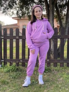 Felpa Bambina Vicolo Girl