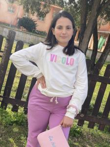 Felpa bambina Vicolo