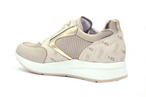 Sneaker pelle stampa monogram