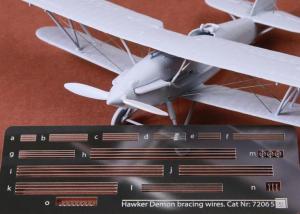 Hawker Demon Rigging Wire Set