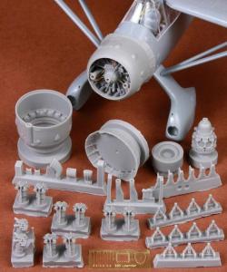 Westland Lysander Mk.III Engine & Cowling Set