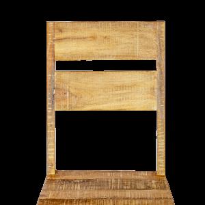 Sedia in legno di mango recuperato antique