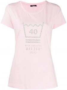 T Shirt stampa glitter - LIU JO