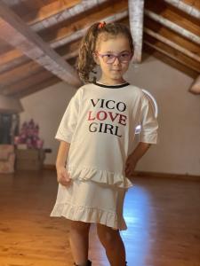 Vestito Bambina Vicolo in felpa
