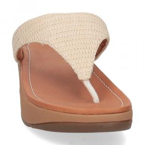 Fitflop Imogen basket weave stone-3