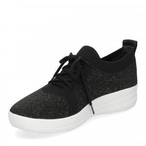Fitflop F-Sporty uberknit sneaker black bronze metallic-4