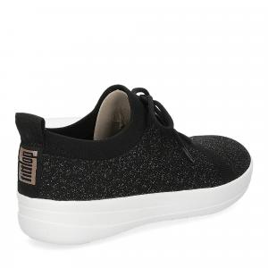 Fitflop F-Sporty uberknit sneaker black bronze metallic-5