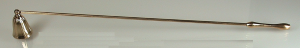 Spegnicandele ottone 46 cm.