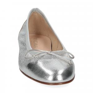 Micina Ballerina G700SF pelle laminata argento-3