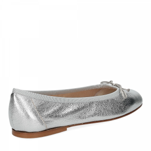 Micina Ballerina G700SF pelle laminata argento-5