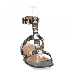 Il Laccio sandalo C108 pelle nero-3