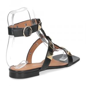 Il Laccio sandalo C108 pelle nero-5