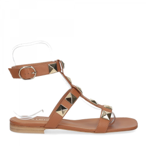 Il Laccio sandalo C108 pelle cuoio-2
