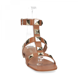 Il Laccio sandalo C108 pelle cuoio-3
