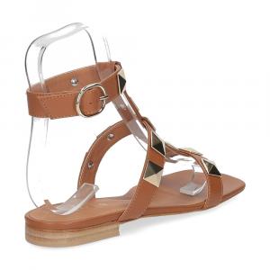 Il Laccio sandalo C108 pelle cuoio-5