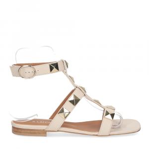 Il Laccio sandalo C108 pelle beige-2
