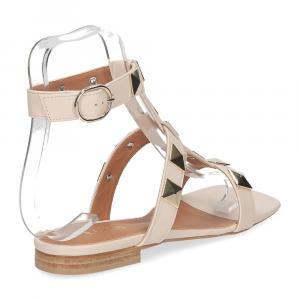 Il Laccio sandalo C108 pelle beige-5