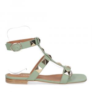 Il Laccio sandalo C108 pelle verde-2