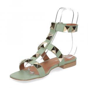 Il Laccio sandalo C108 pelle verde-4