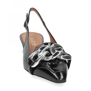 Il Laccio Chanel C406 vernice nero-3