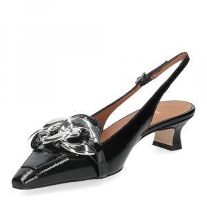Il Laccio Chanel C406 vernice nero-4