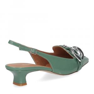 Il Laccio Chanel C406 vernice verde-5