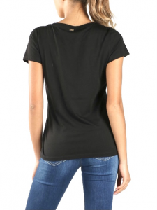 T-shirt DILLY con stampa strass NENETTE