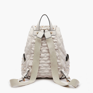 LA CARRIE Tinette Backpack Syntetic Ivory