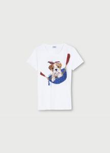 LIU JO WA1495J5003 T-shirt con stampa