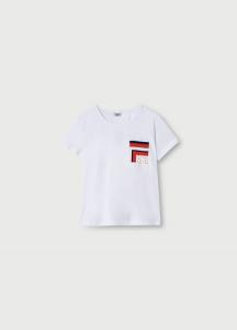LIU JO WA1482J5972 T-shirt moda mezza manica