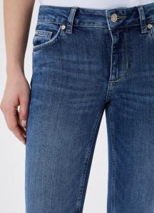 LIU JO UA1001D439178143 Jeans skinny cropped con tracollina/marsupio