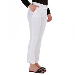 Pantaloni Donna Gloria-Capri REHASH P366 2025BIANCO BW  -21