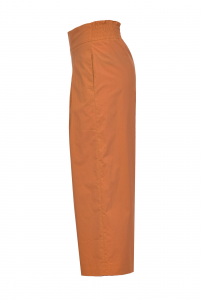 SHOPPING ON LINE PINKO PANTALONI CROPPED AMPI IN POPELINE TESO 4 NEW COLLECTION WOMEN'S SPRING SUMMER 2021