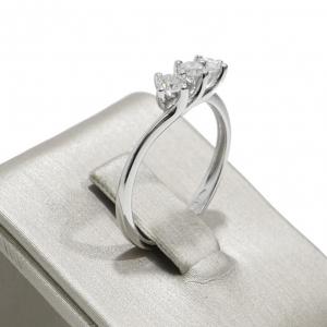 Anello Miluna Trilogy Oro Diamanti LID3312-039G7