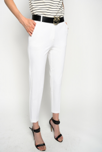 SHOPPING ON LINE PINKO PANTALONI CIGARETTE-FIT EFFETTO SCUBA BELLO 100 NEW COLLECTION WOMEN'S SPRING SUMMER 2021