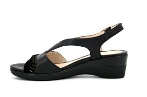 Vanity III 22 sandalo in pelle