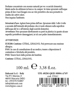 Profumatore wc Vaniglia limone 100ml