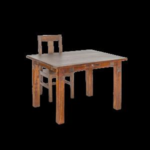 Tavolo in legno di palissandro indiano dark brown