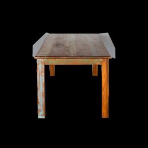 Tavolo in legno di teak recuperato indiano