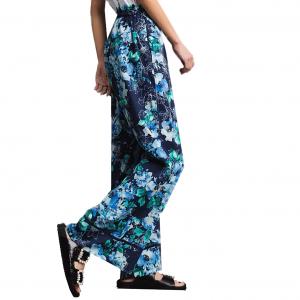 Pantaloni palazzo cotone multicolor - TWIN SET