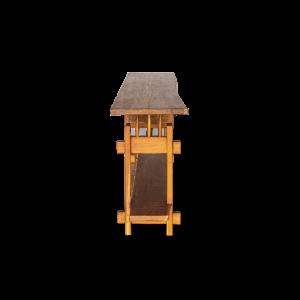 Consolle in legno di teak