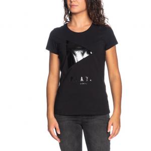 T-shirt nera sport LIU JO