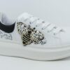 VITAMINA TU GAETA/ APE patch Sneakers in ecopelle con stampa laterale e patch
