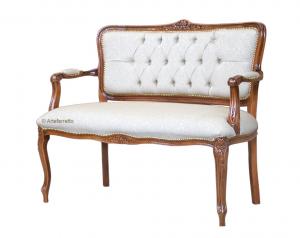 Sofa klassisch mit Knöpfen Bella Parigi