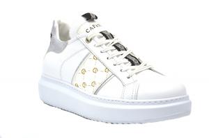Sneaker con fascia logata
