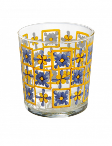 Brandani 6 bicchieri Medicea vetro