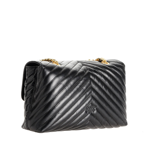 Love Lady Puff V Quilt cl. nera PINKO